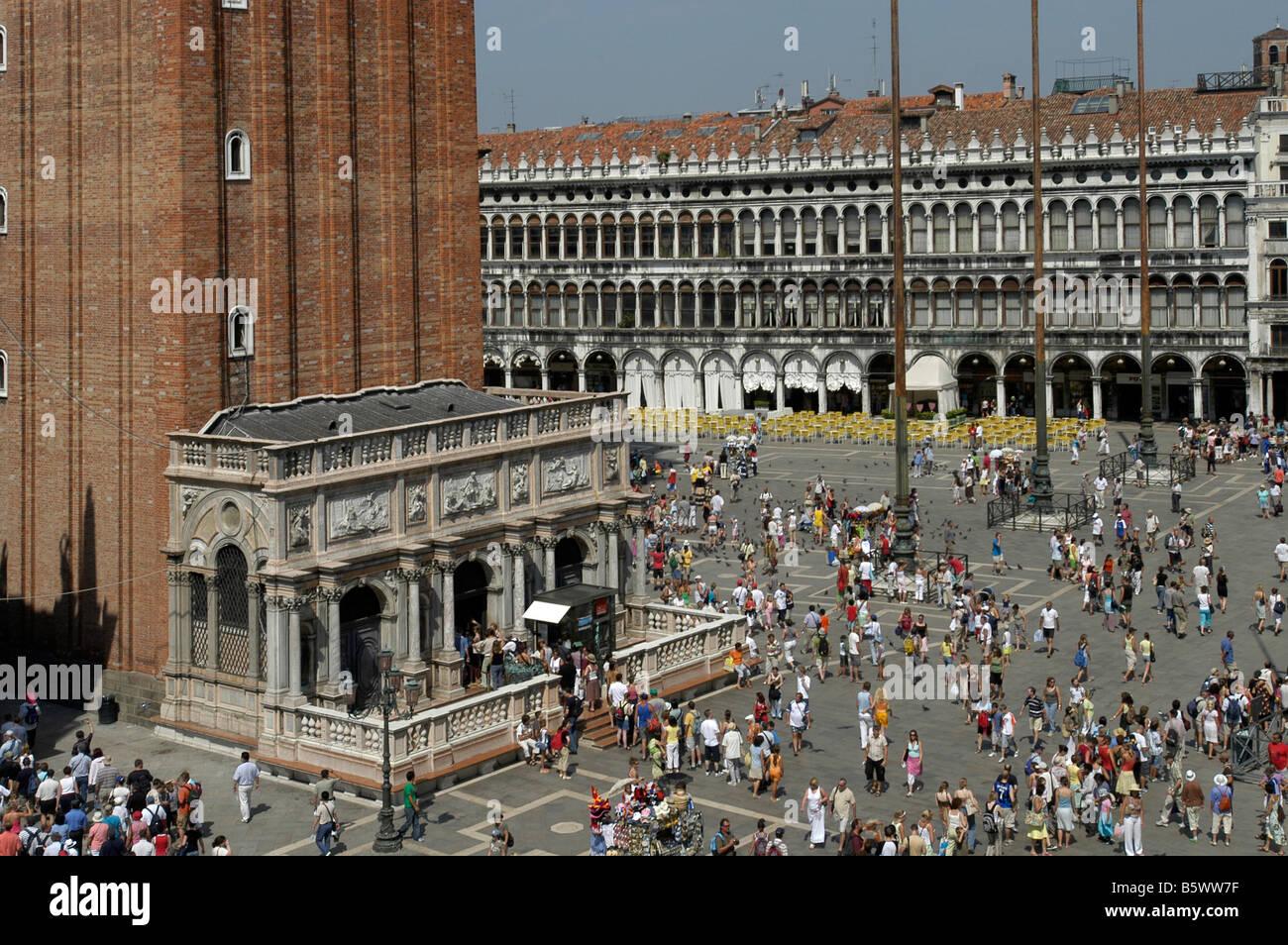 Italy St. Mark's Square, Venice Stock Photo