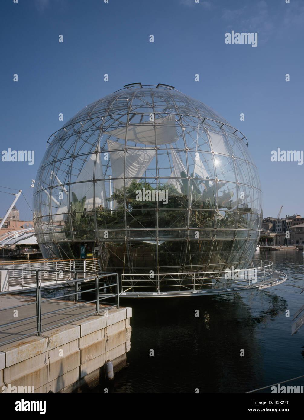 La Bolla, Genova, By Renzo Piano - Stock Image