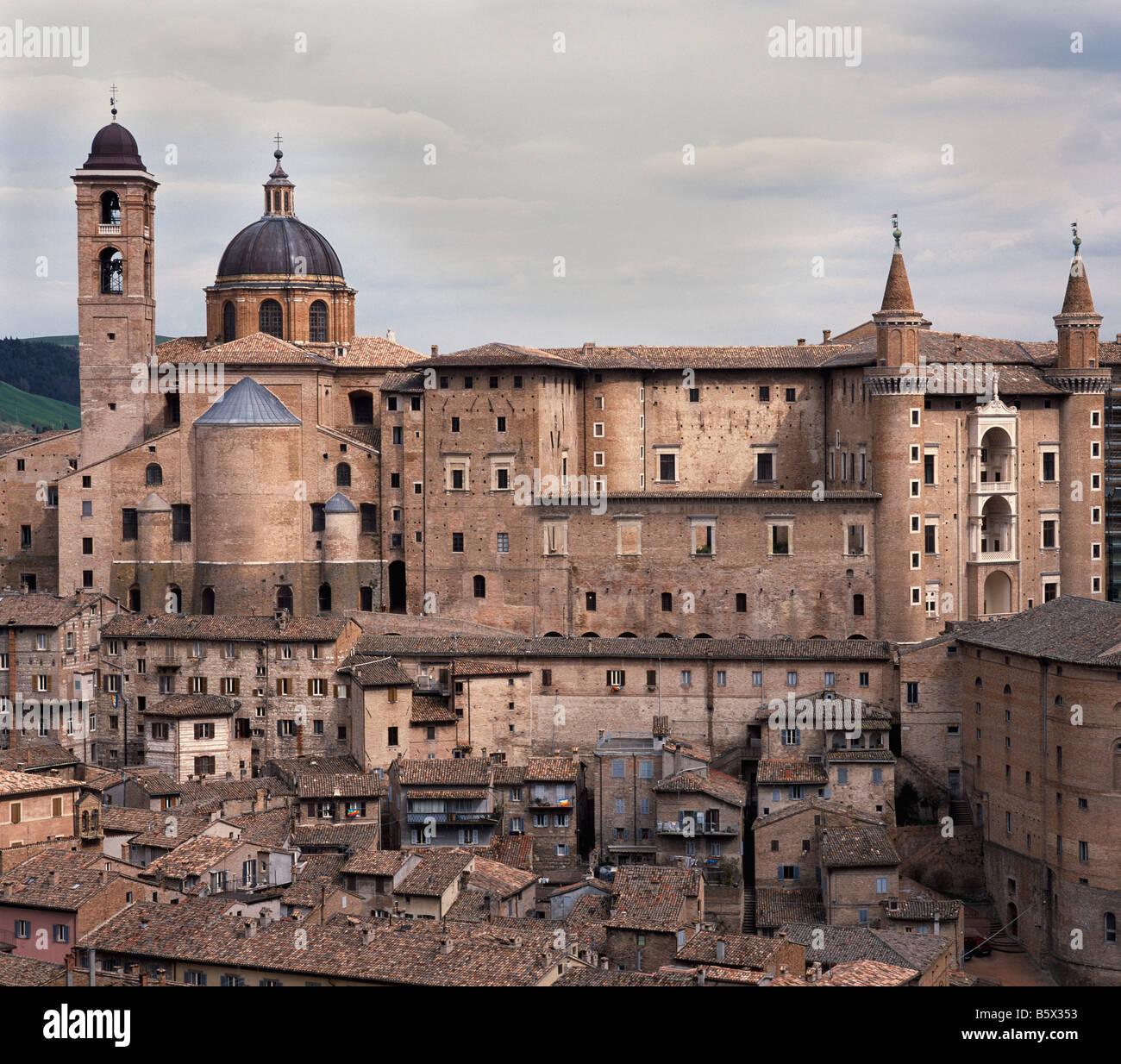 Italy: Marche: Urbino - Stock Image