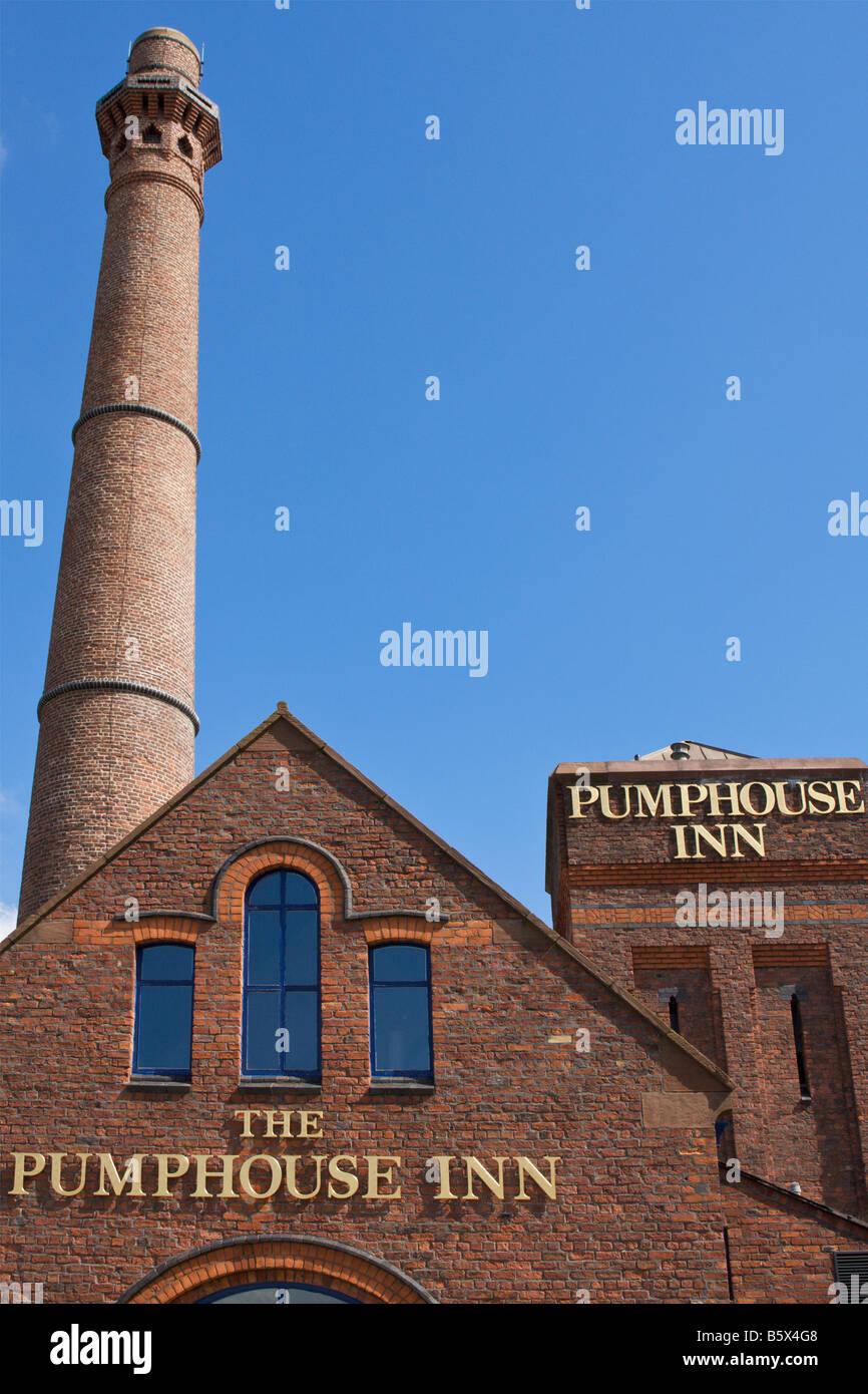 The Pumphouse Inn at Albert Dock Liverpool England UK - Stock Image