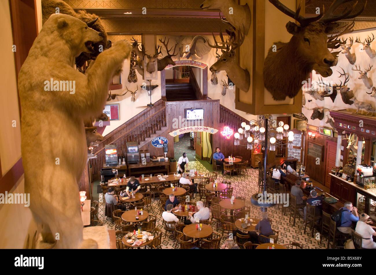 San Antonio's Buckhorn Saloon and Museum - Stock Image