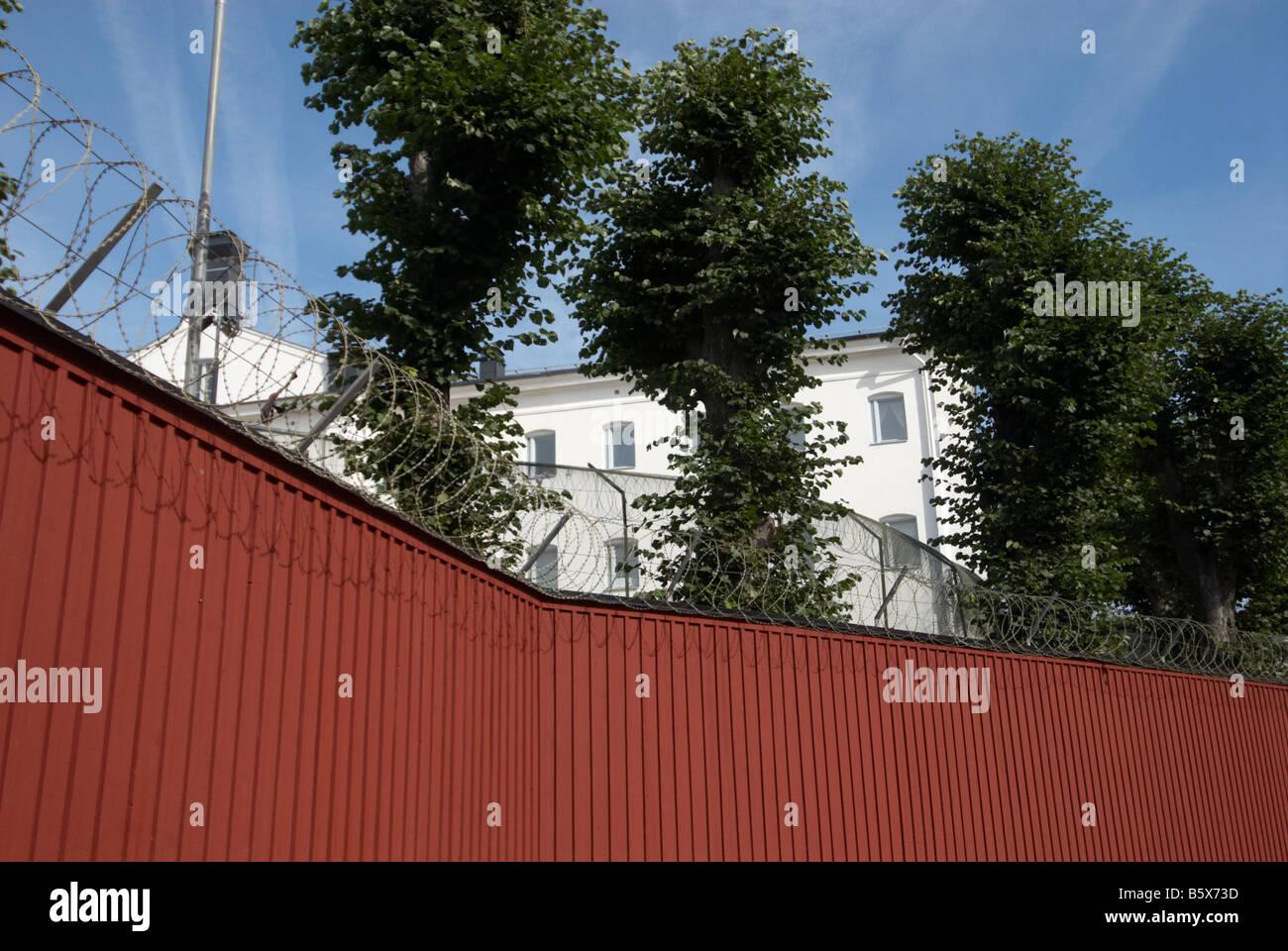 Prison in Karlskrona - Stock Image
