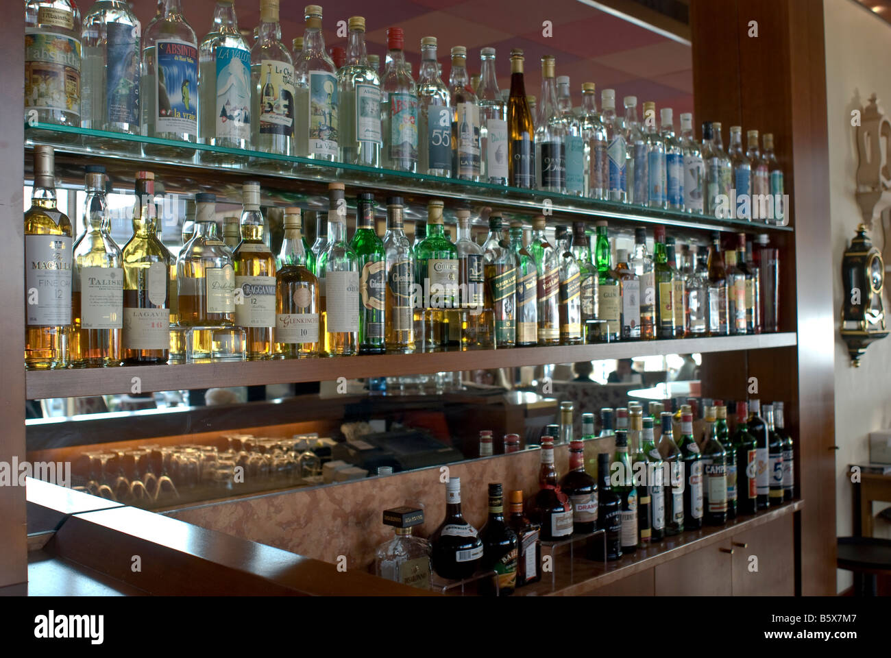 The Bar At The 5 Star Hotel Beau Rivage Neuchatel