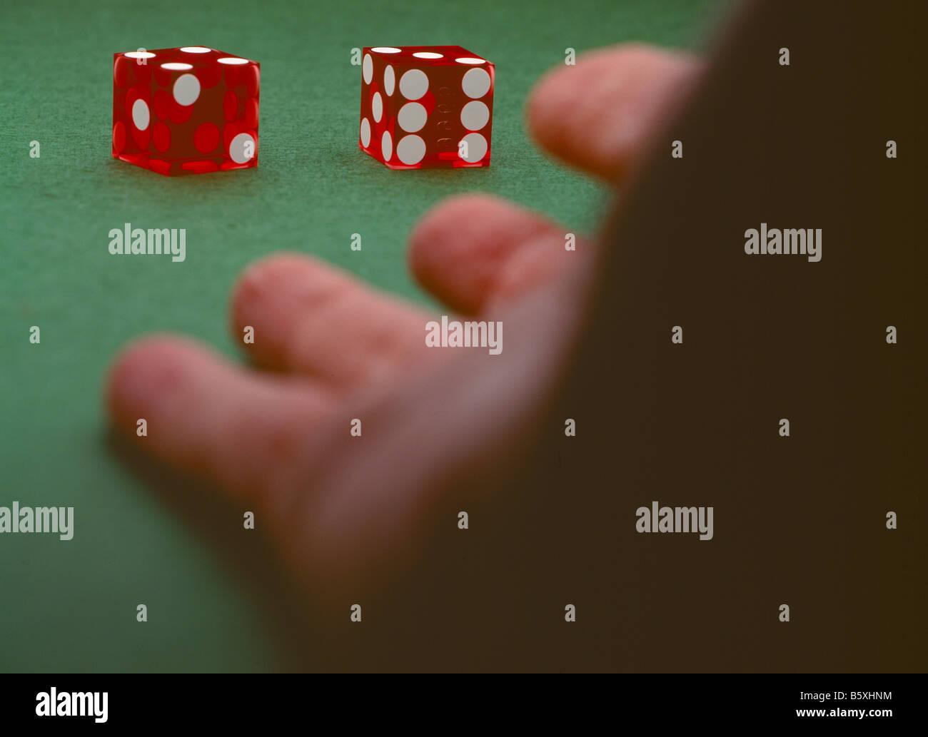 Games of Chance II - Stock Image