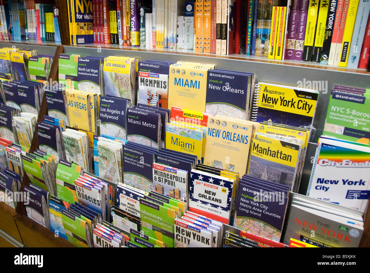 Maps of the USA for sale in a shop Stock Photo: 20869063 - Alamy