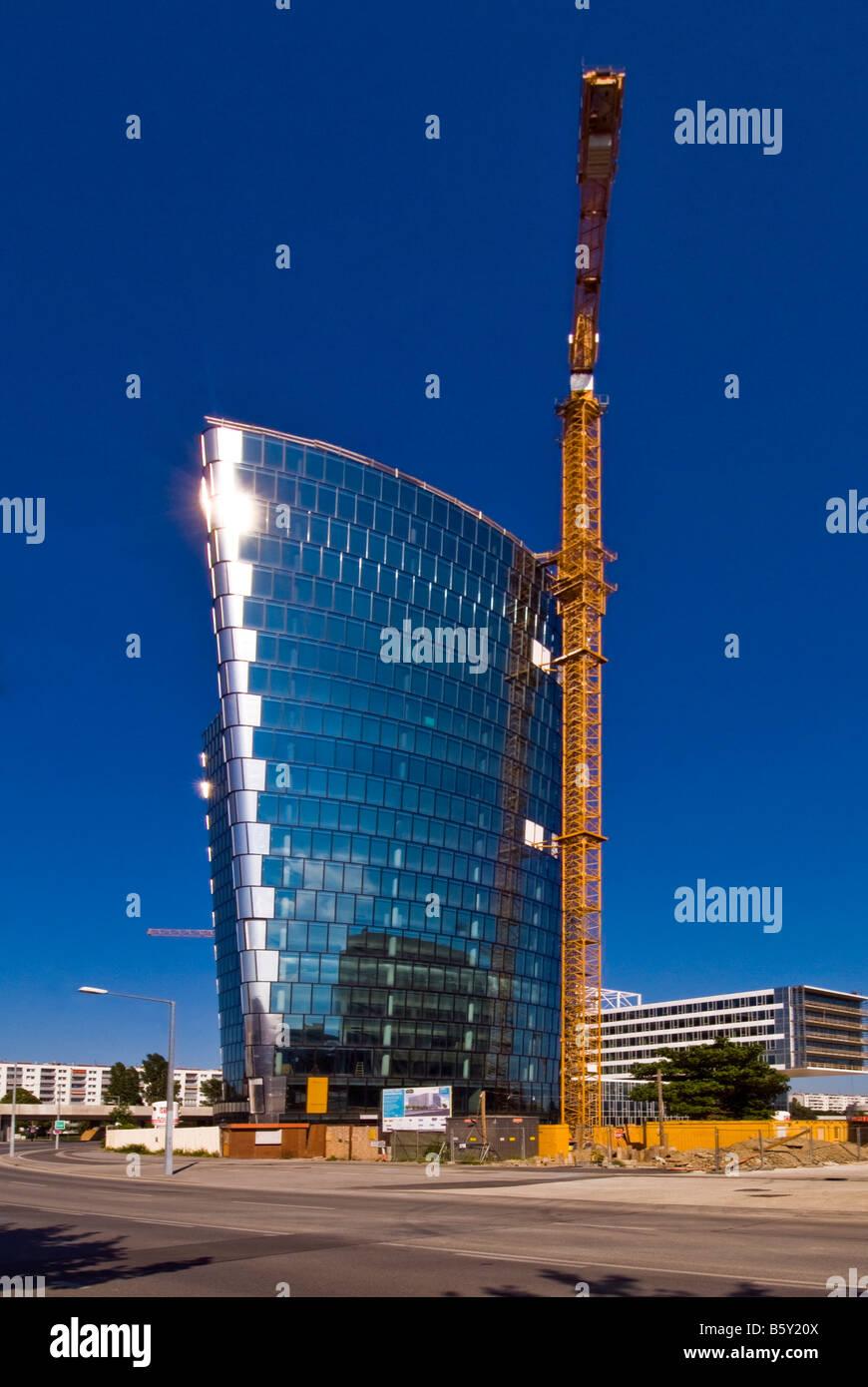 Hoch Zwei under construction, Vienna, Austria - Stock Image