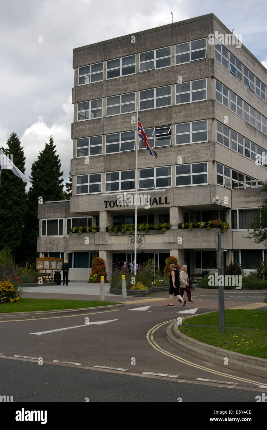 Crawley Town Hall West Sussex - Stock Image
