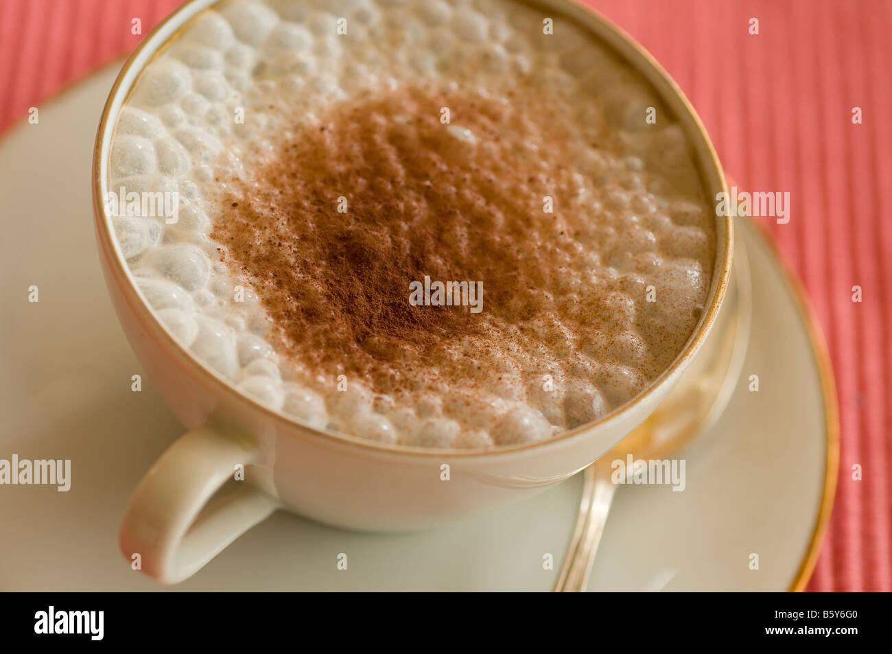 Cappuccino - Stock Image
