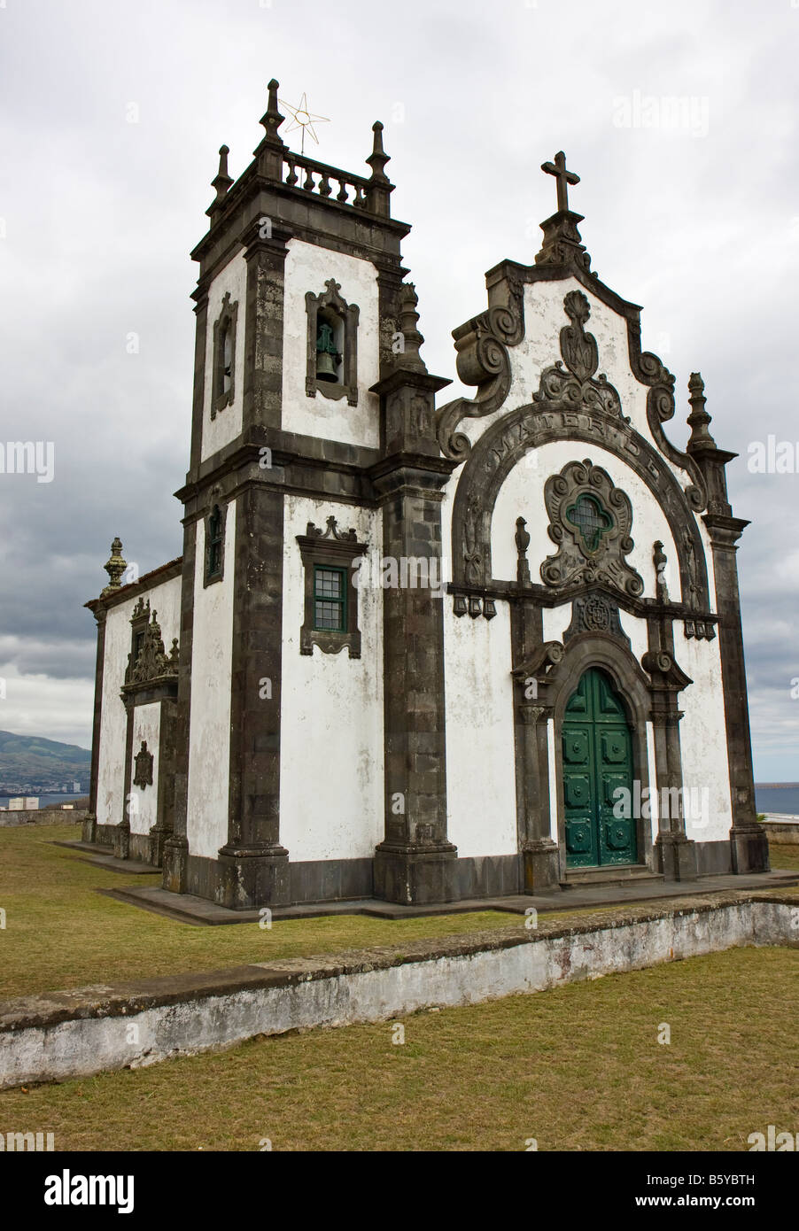 Mother of God Chapel, Ermida da Mãe de Deus, Ponta Delgada, Azores, Portugal - Stock Image