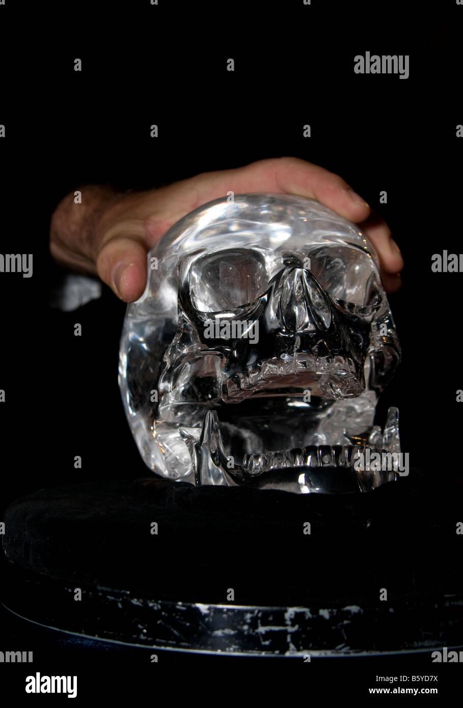 alamyprorank The Skull of Doom. - Stock Image