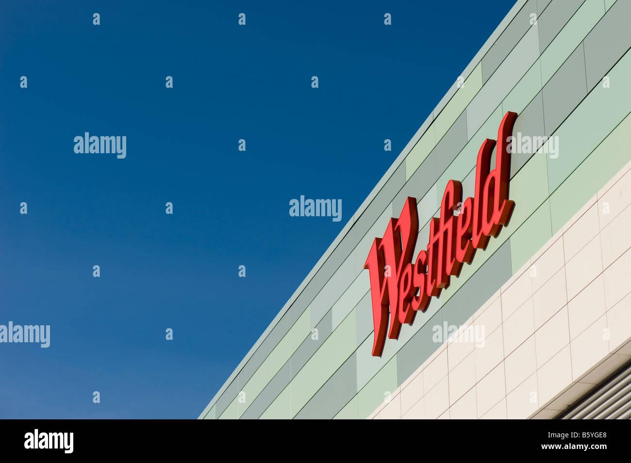 Westfield Shopping Centre White City Development London United Kingdom - Stock Image