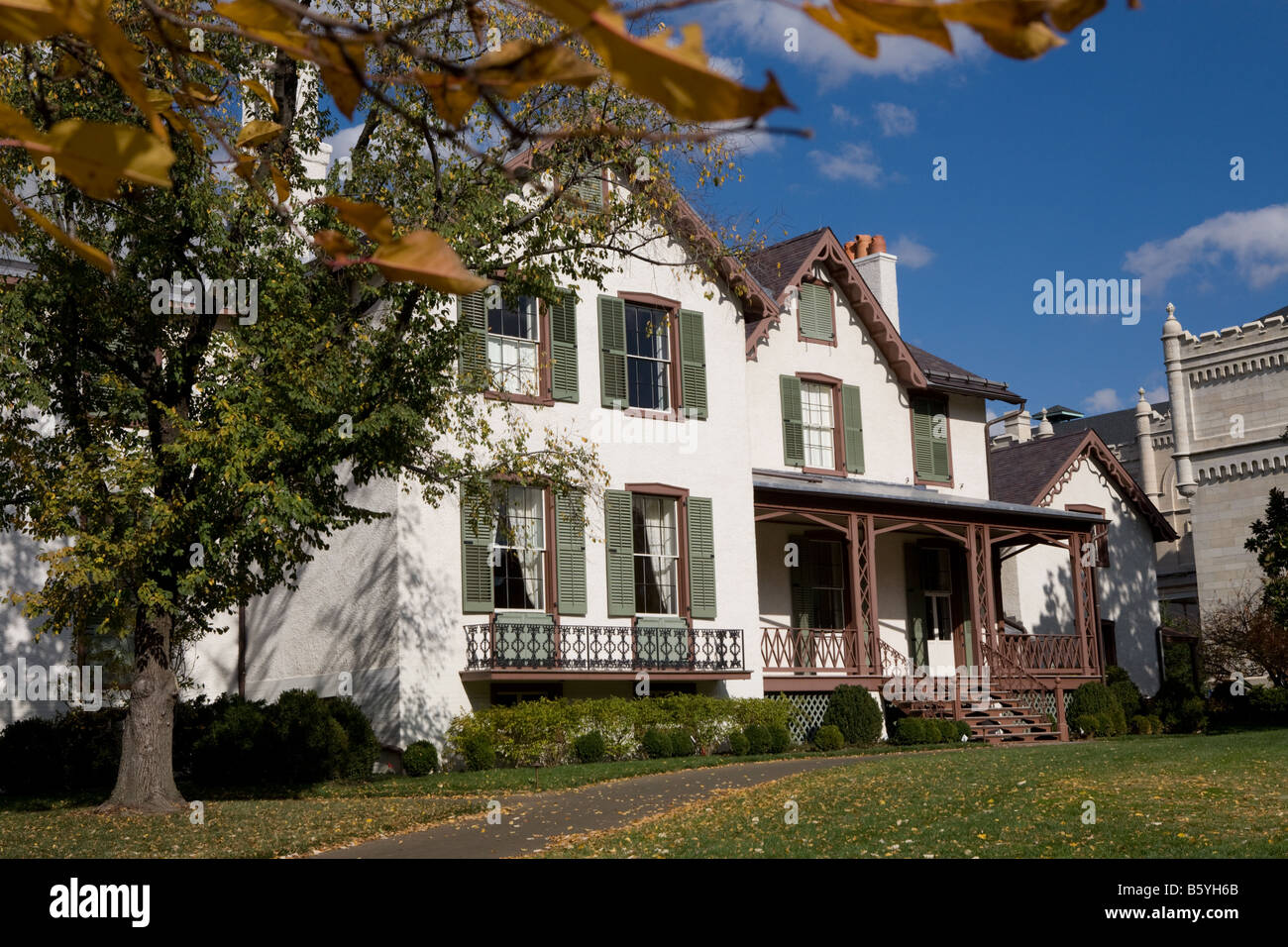 Incredible President Lincoln Cottage At The Soldiers Home In Washington Download Free Architecture Designs Barepgrimeyleaguecom