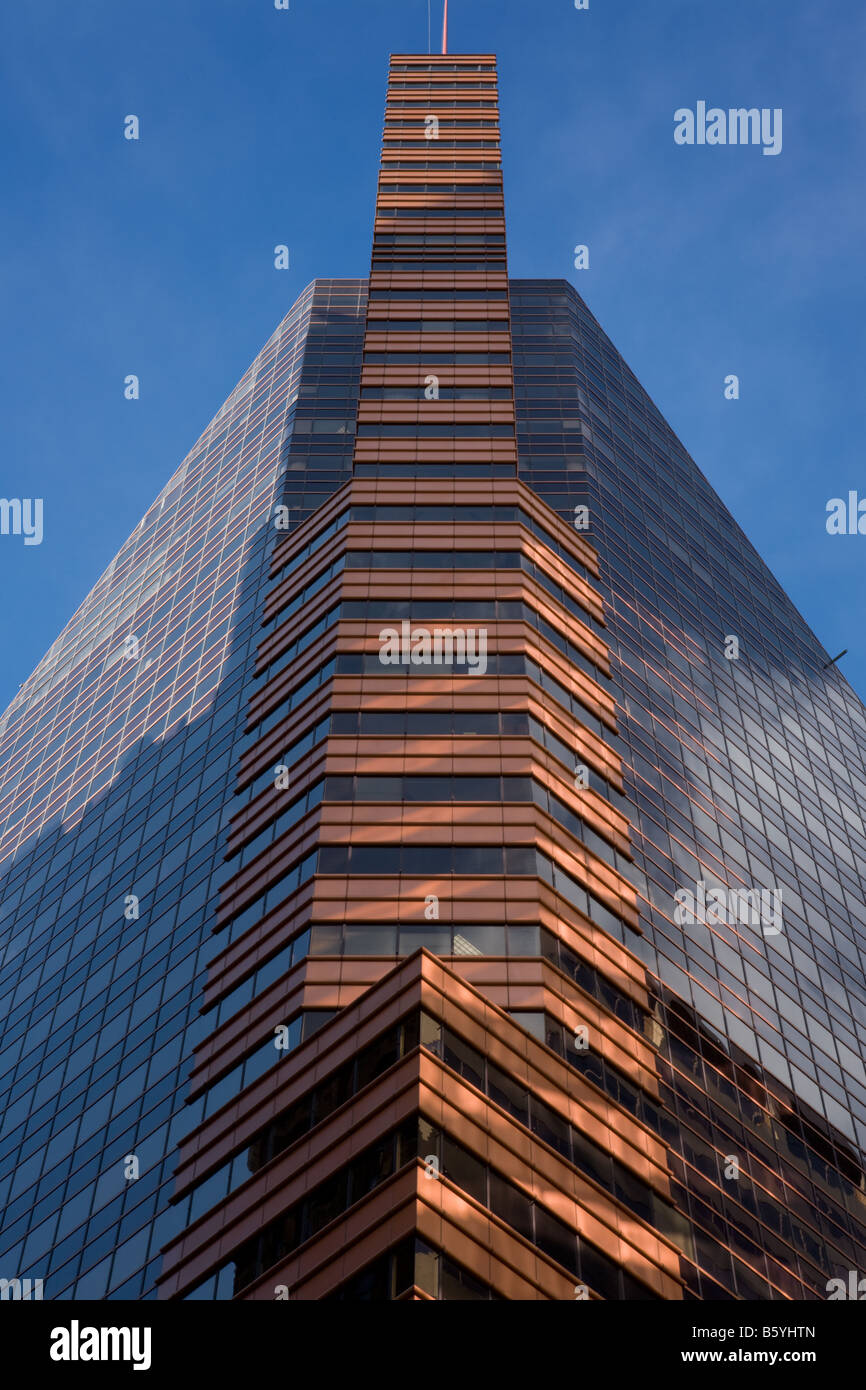 One Charles Center tower aka William Donald Schaefer Building by modernist architect Mies van der Rohe Baltimore - Stock Image