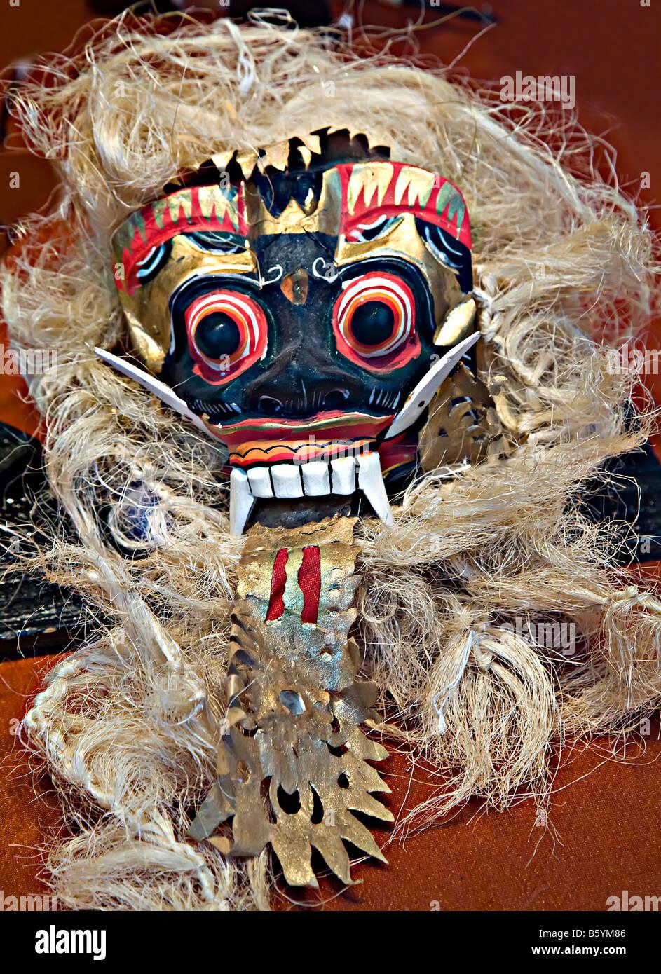 Frightening mask - Stock Image