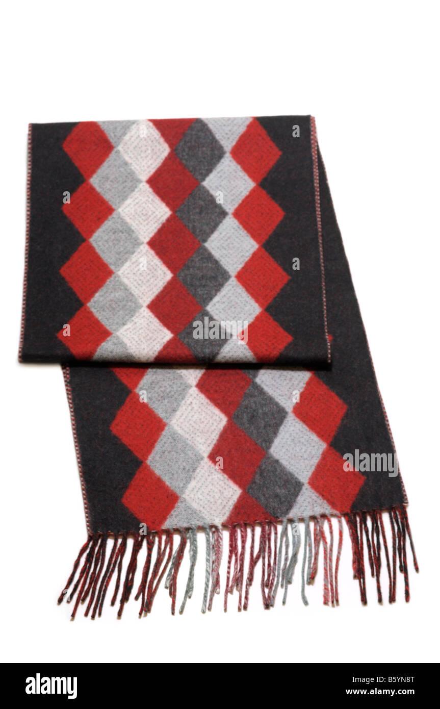 Winter Scarf, Wool - Stock Image