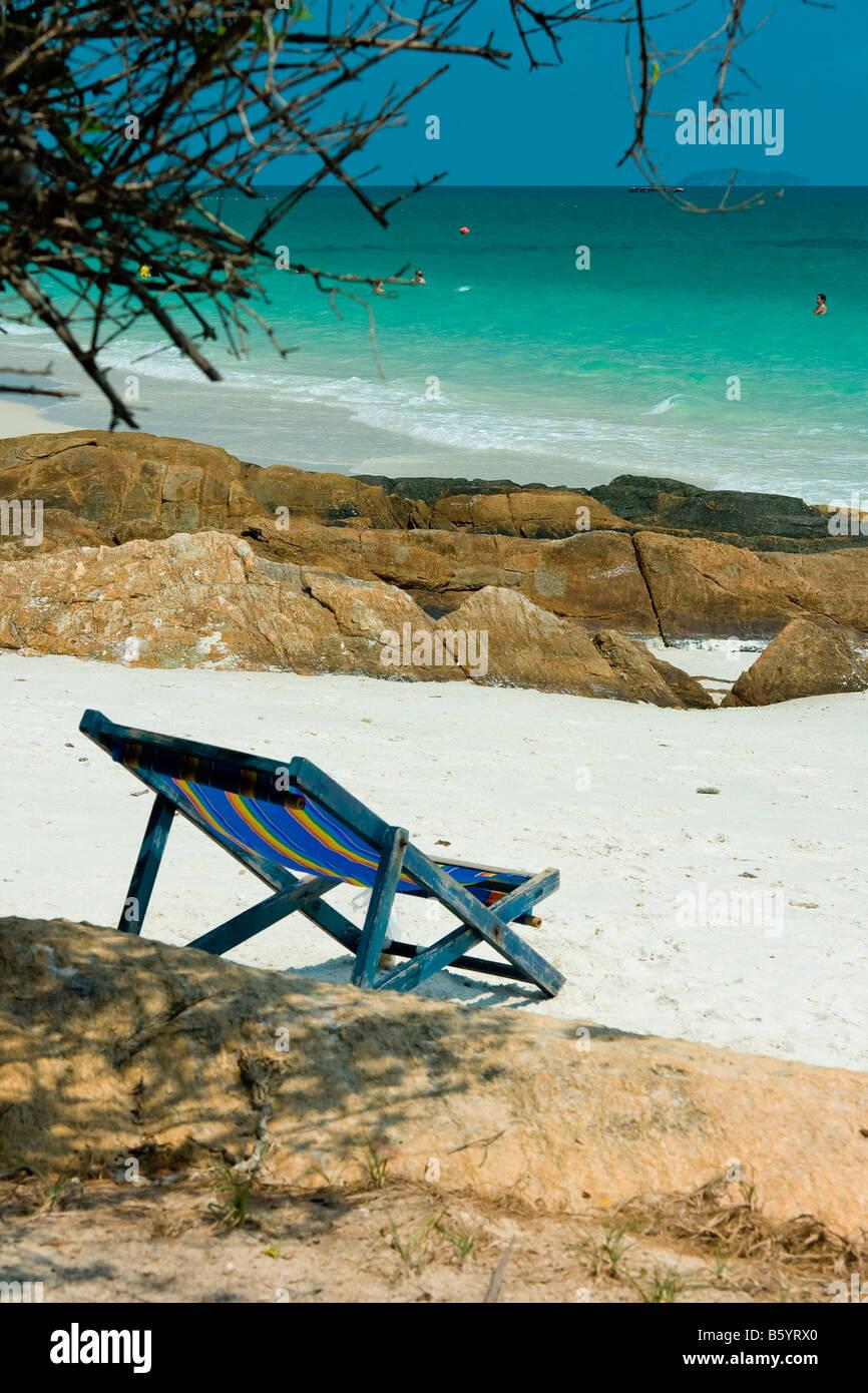 Koh Chang beach Thailand natur alone - Stock Image