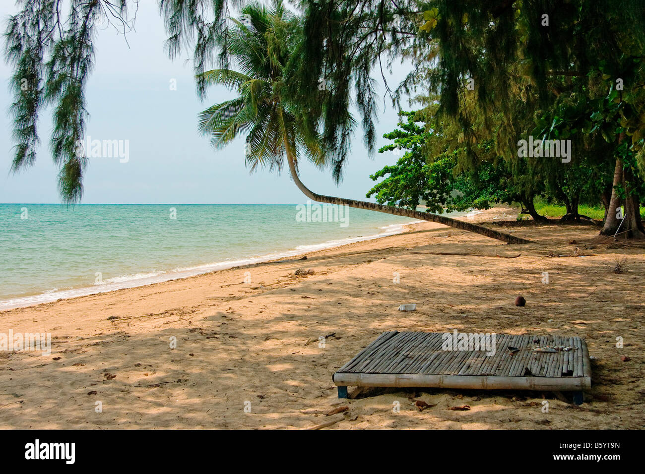 Asia sand beach romantic place relax - Stock Image