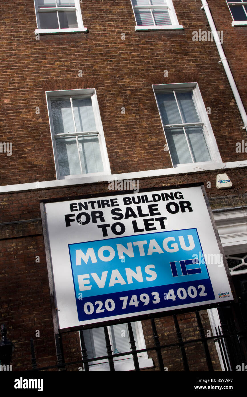 Entire Building for sale or to let in London Borough of Camden GB UK Stock Photo