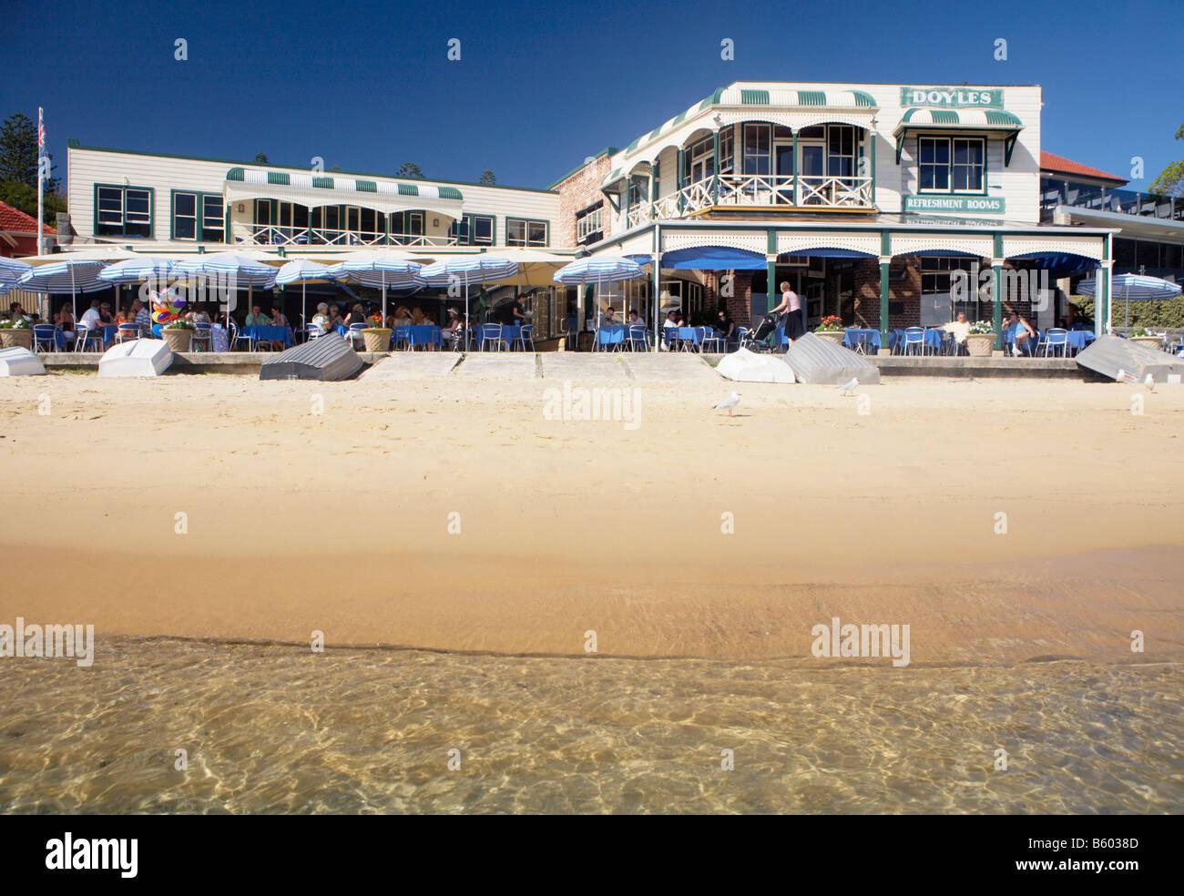 SYDNEY WATSONS BAY DOYLES - Stock Image