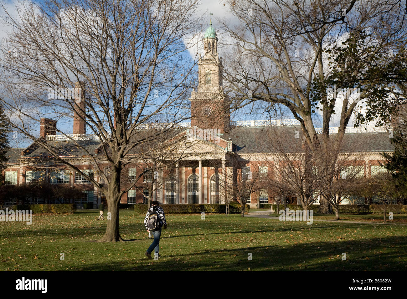 Grosse Pointe Farms Michigan Grosse Pointe South High School - Stock Image