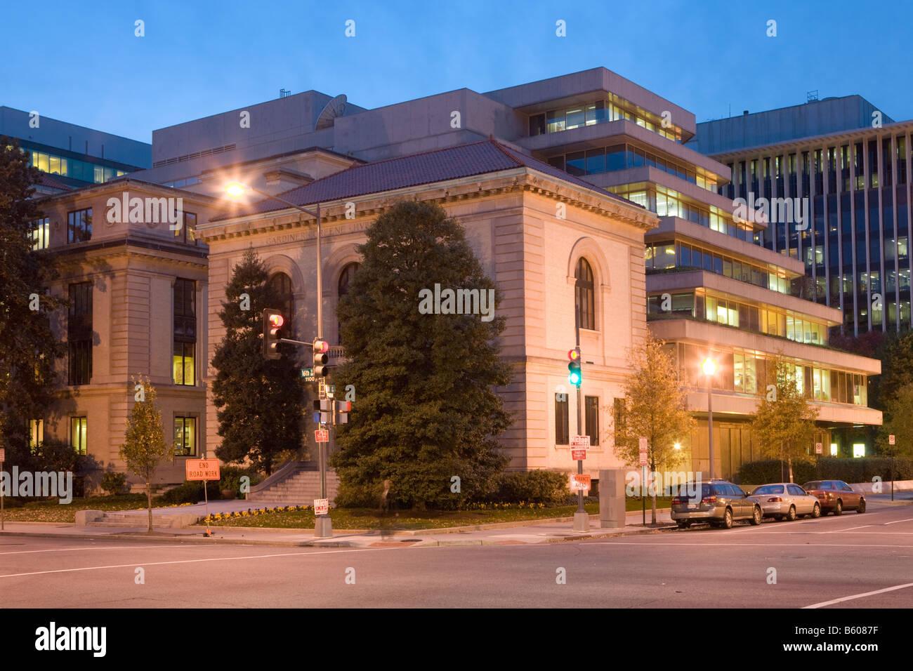 National Geographic Headquarters Washington D.C. - Stock Image