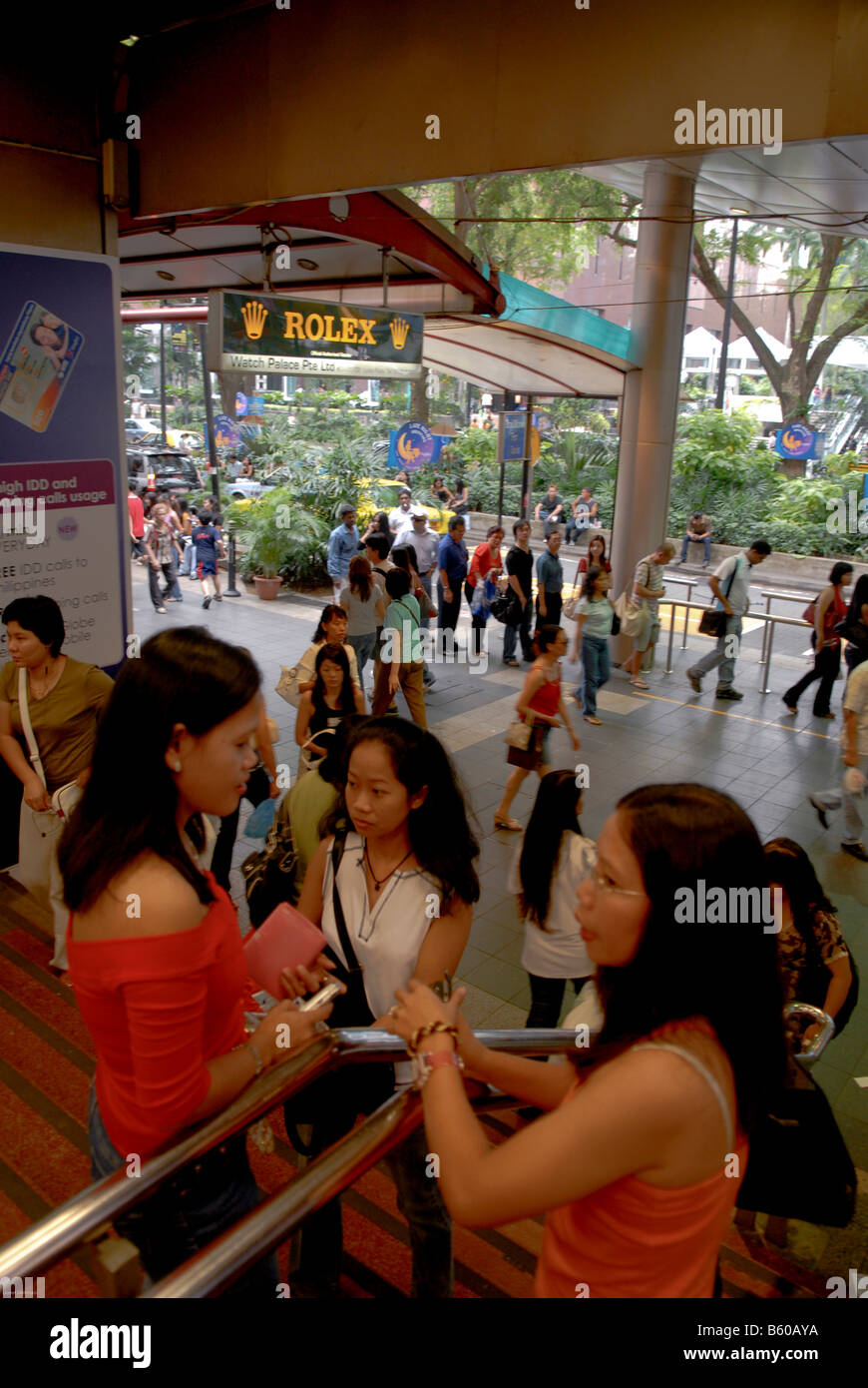 Girls orchard road Orchard Road