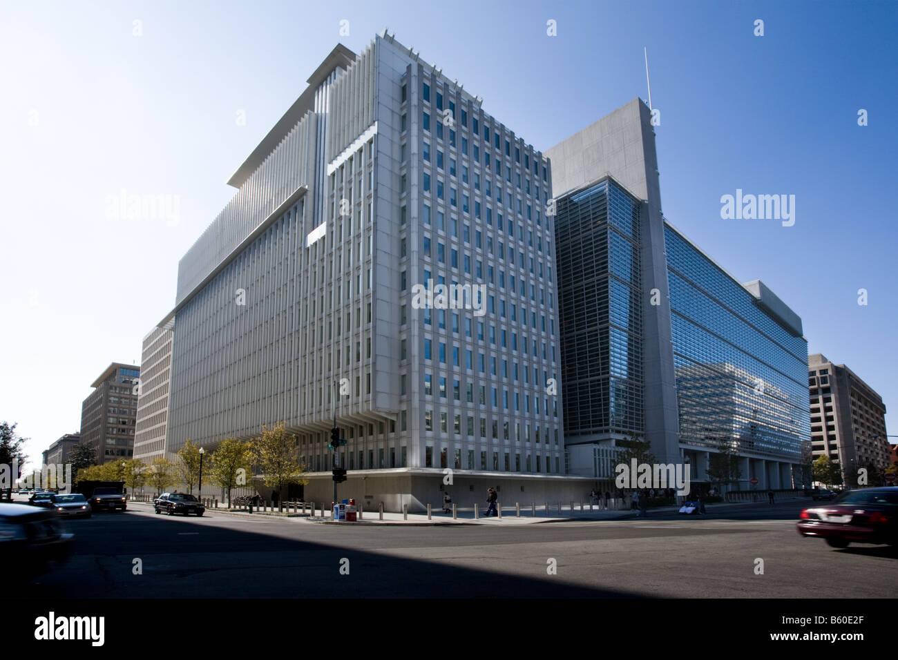 World Bank Washington D.C. - Stock Image