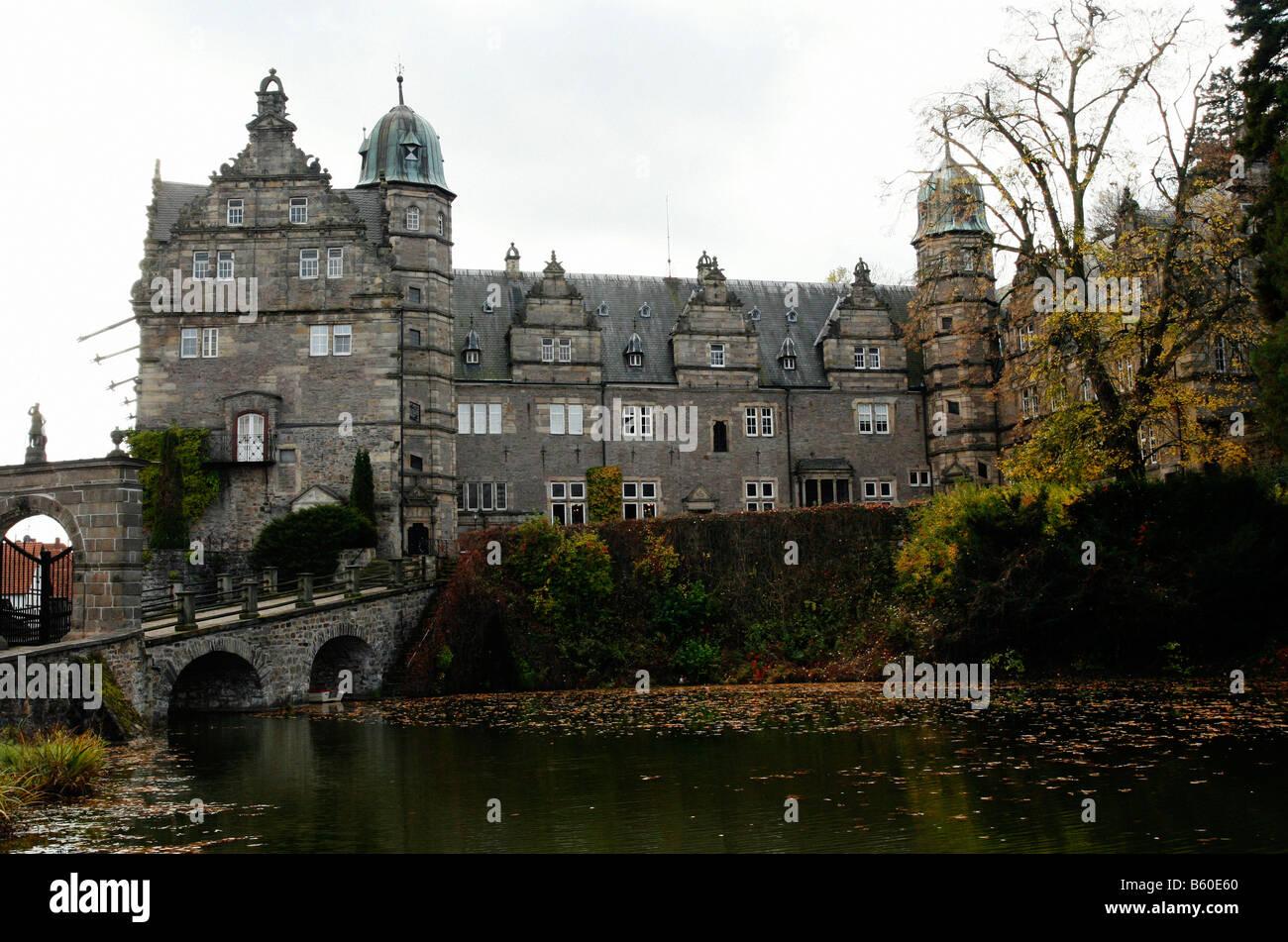 Haemelschenburg castle, Lower Saxony, Germany Stock Photo