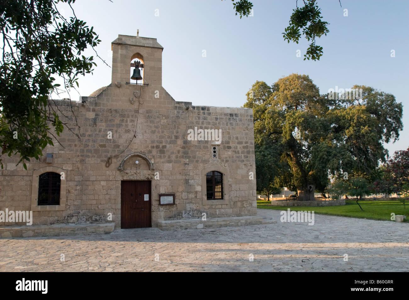 Kiti, Church of the Panayía Angeloktistos Stock Photo