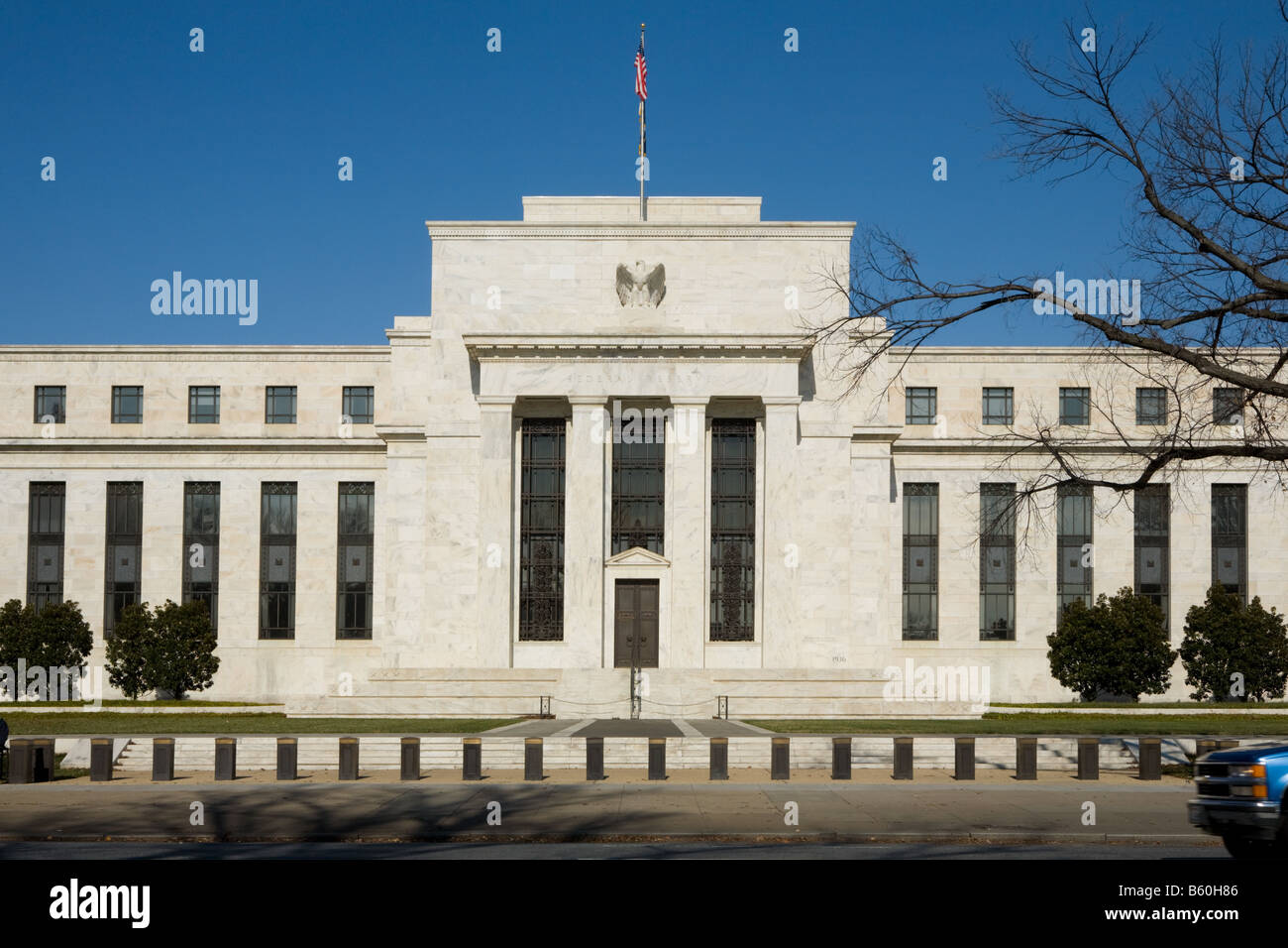 Federal Reserve Bank Washington D.C. - Stock Image
