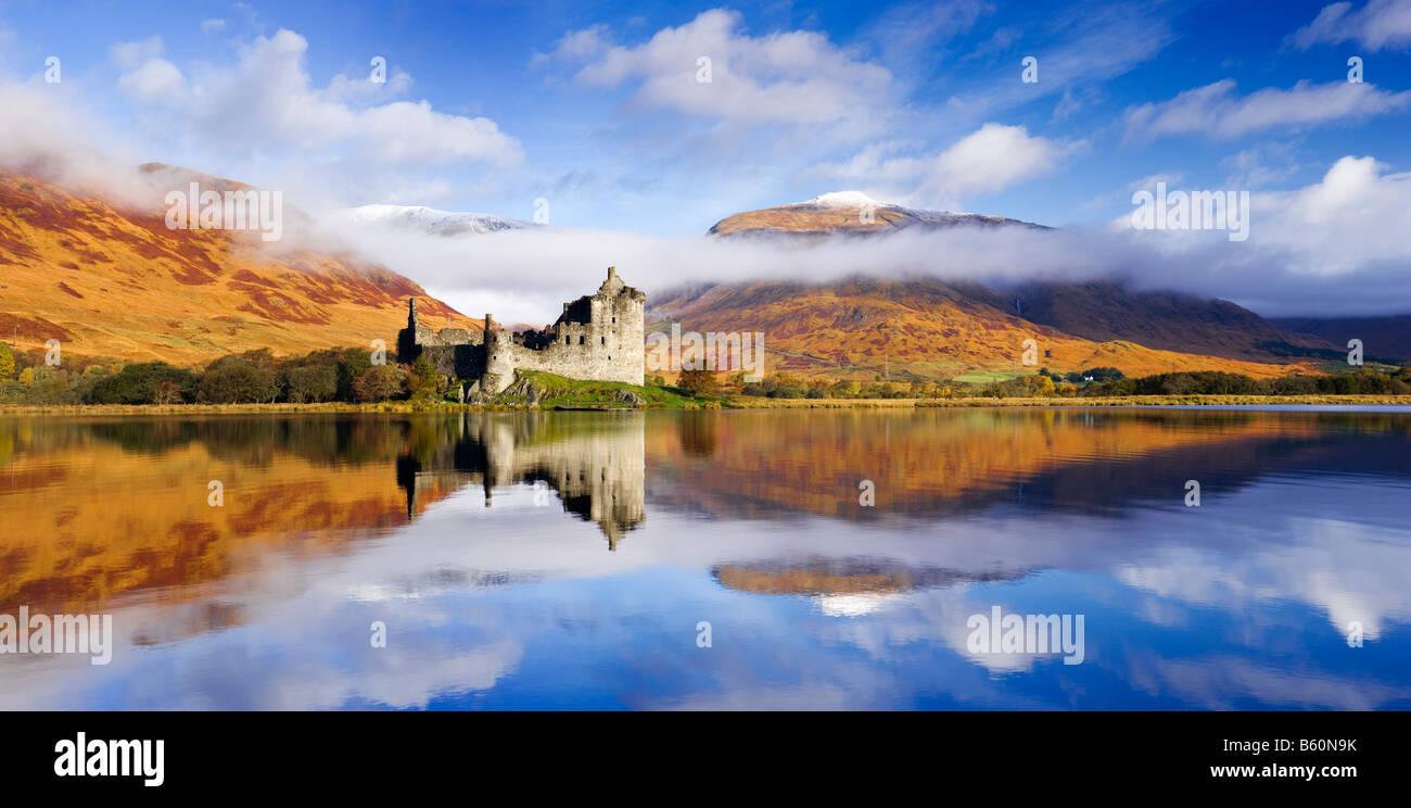 Kilchurn Castle, Loch Awe, Argyll, Scotland, UK - Stock Image