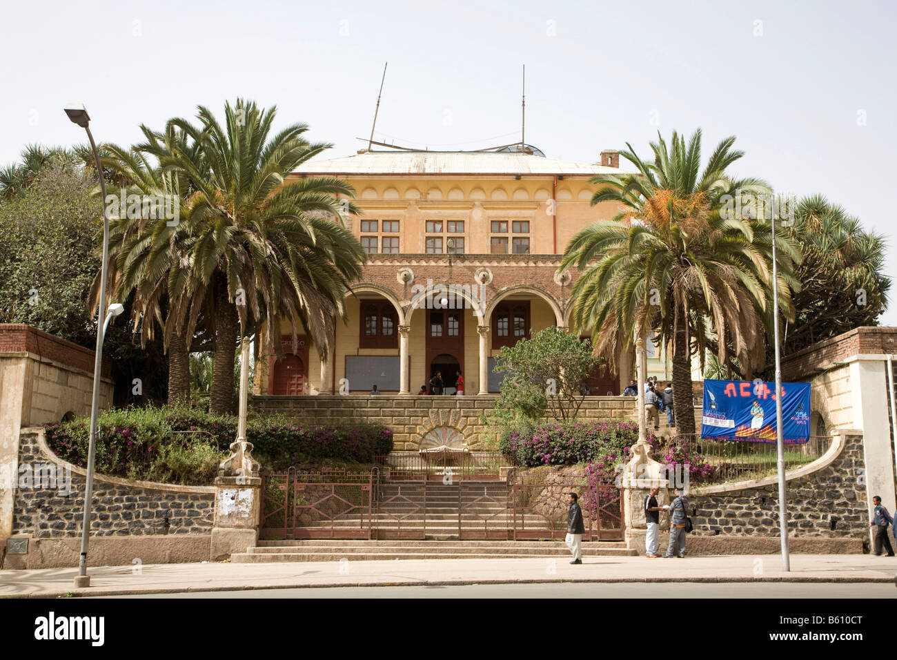 Theatre on the Harnet Avenue, built 1919/20 by the Italien, Asmara, Eritrea, Horn of Africa, East Africa - Stock Image