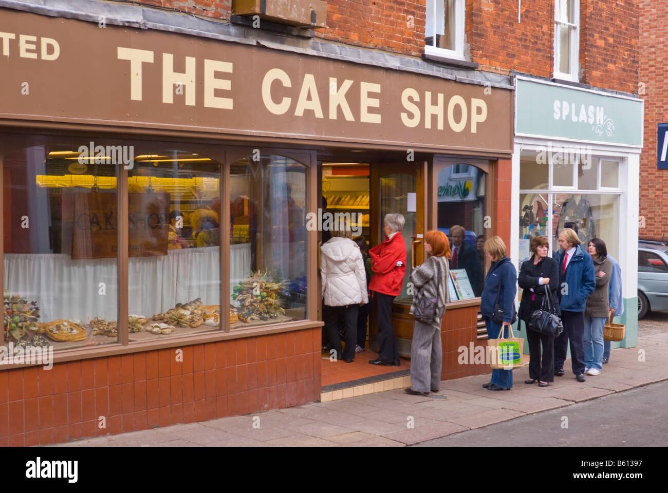Cake Shop At Sittingbourne Kent