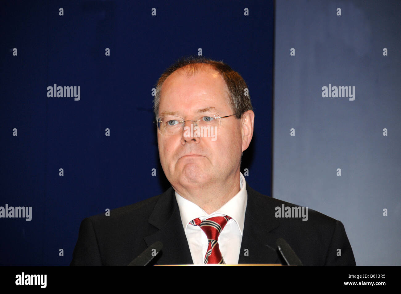 Peer Steinbrueck, Federal Finance Minister, SPD party - Stock Image