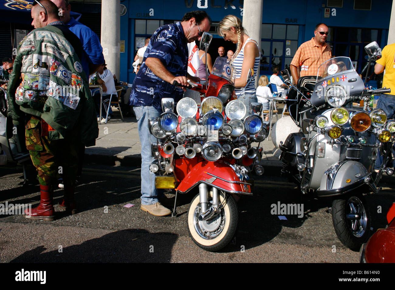 Rally Motor Credit >> Mod Scooter 1960s Stock Photos & Mod Scooter 1960s Stock ...