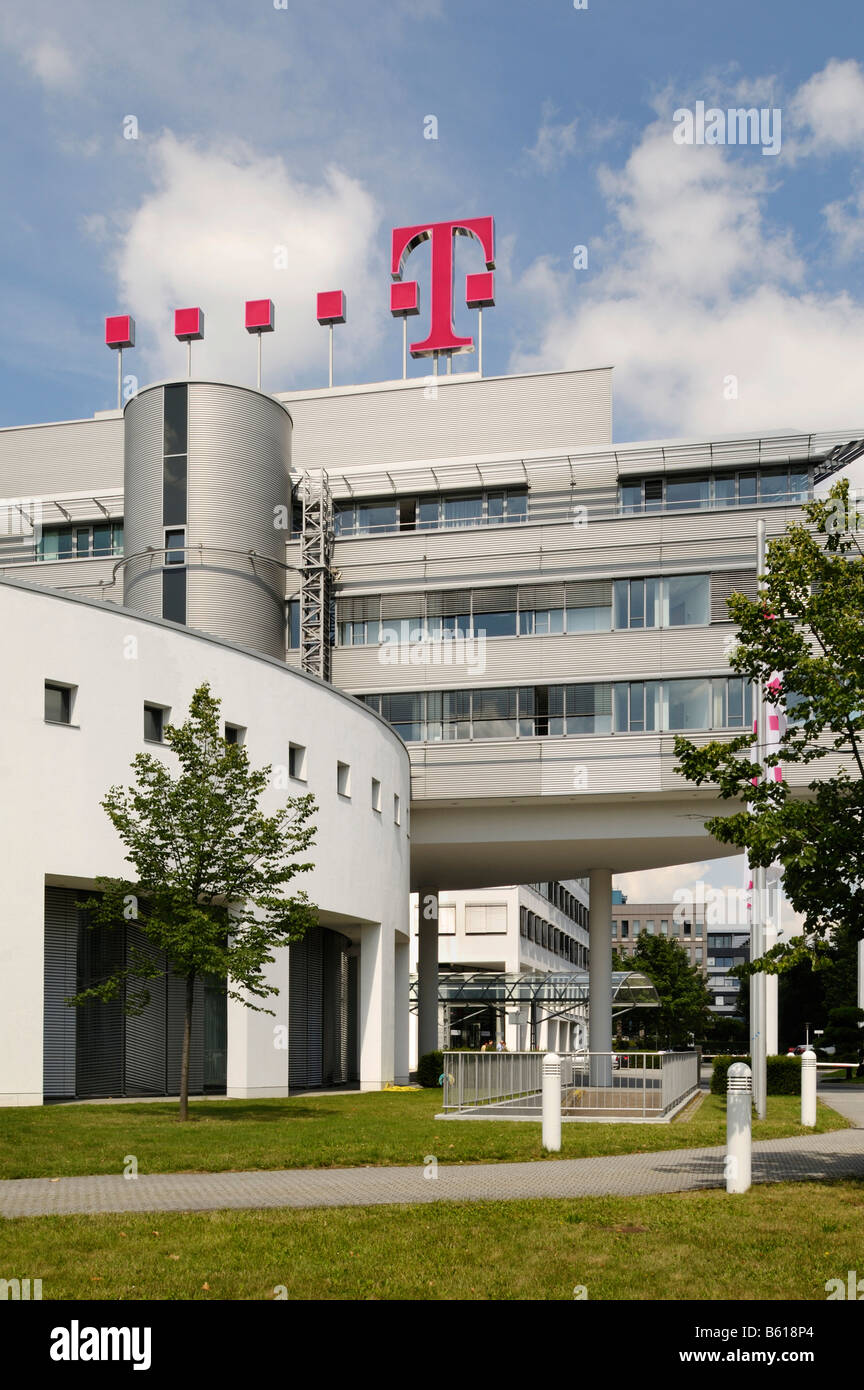 Headquarters of the Deutschen Telekom AG, Bonn, North Rhine-Westphalia - Stock Image