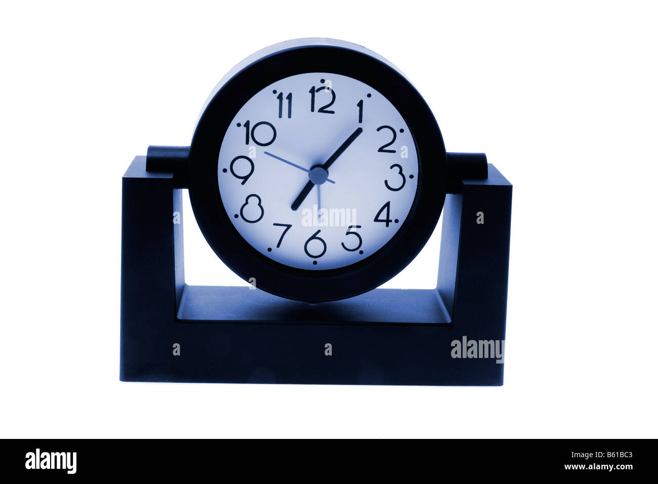 Desk Clock - Stock Image
