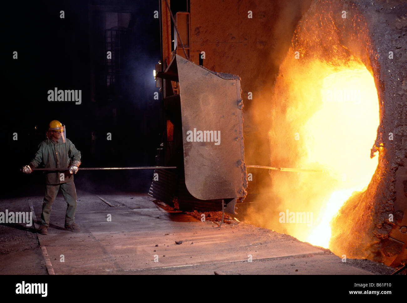 fire steel stock photos fire steel stock images alamy. Black Bedroom Furniture Sets. Home Design Ideas