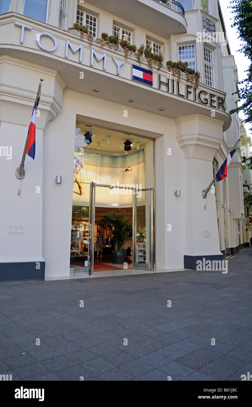 Tommy Hilfiger store, Kudamm, Berlin Stock Photo: 20934604