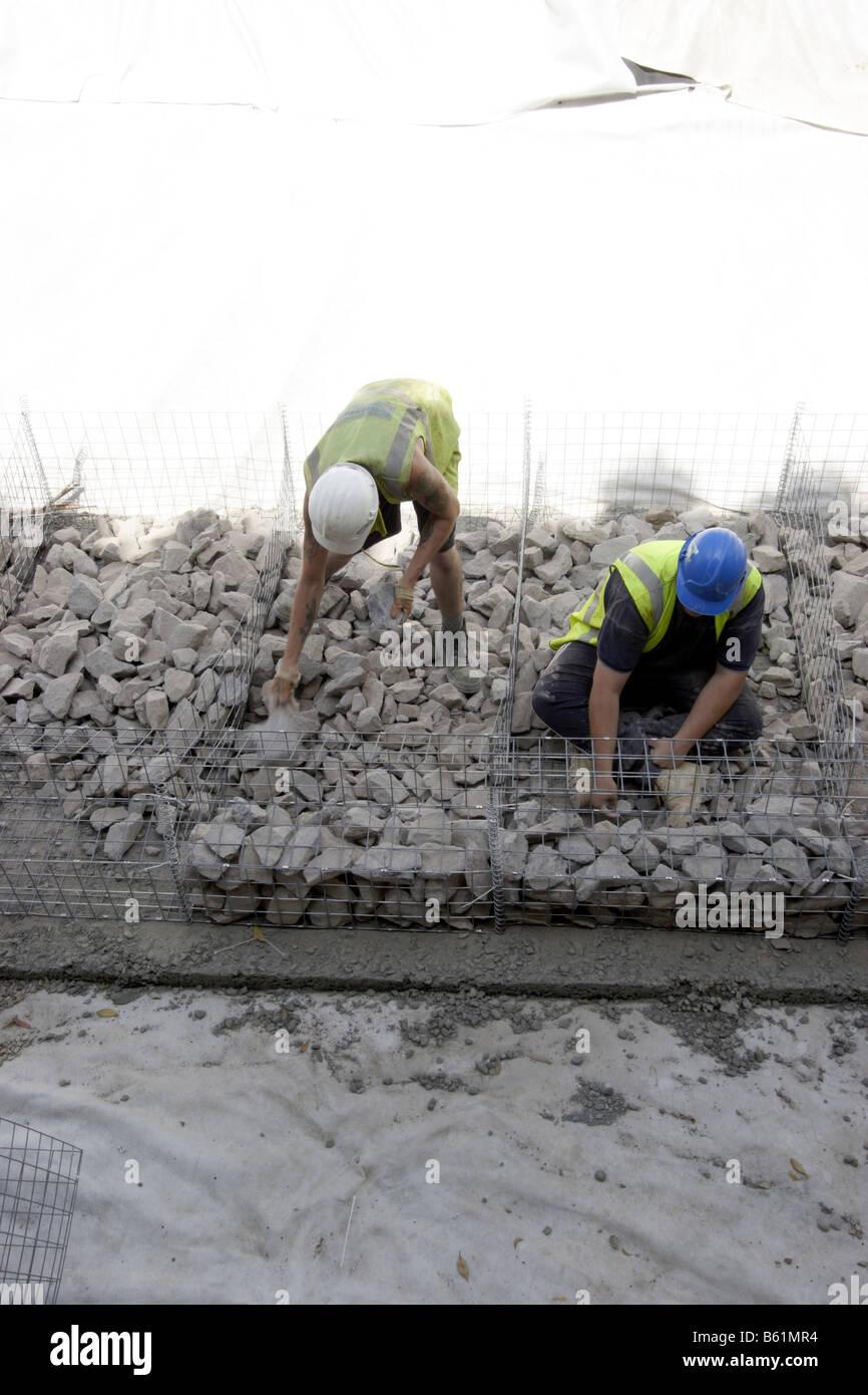 Construction Work in Progress - Stock Image