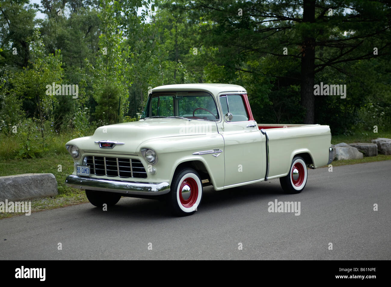 1955 Chevrolet Pickup Stock Photos Chevy Cameo Truck Image