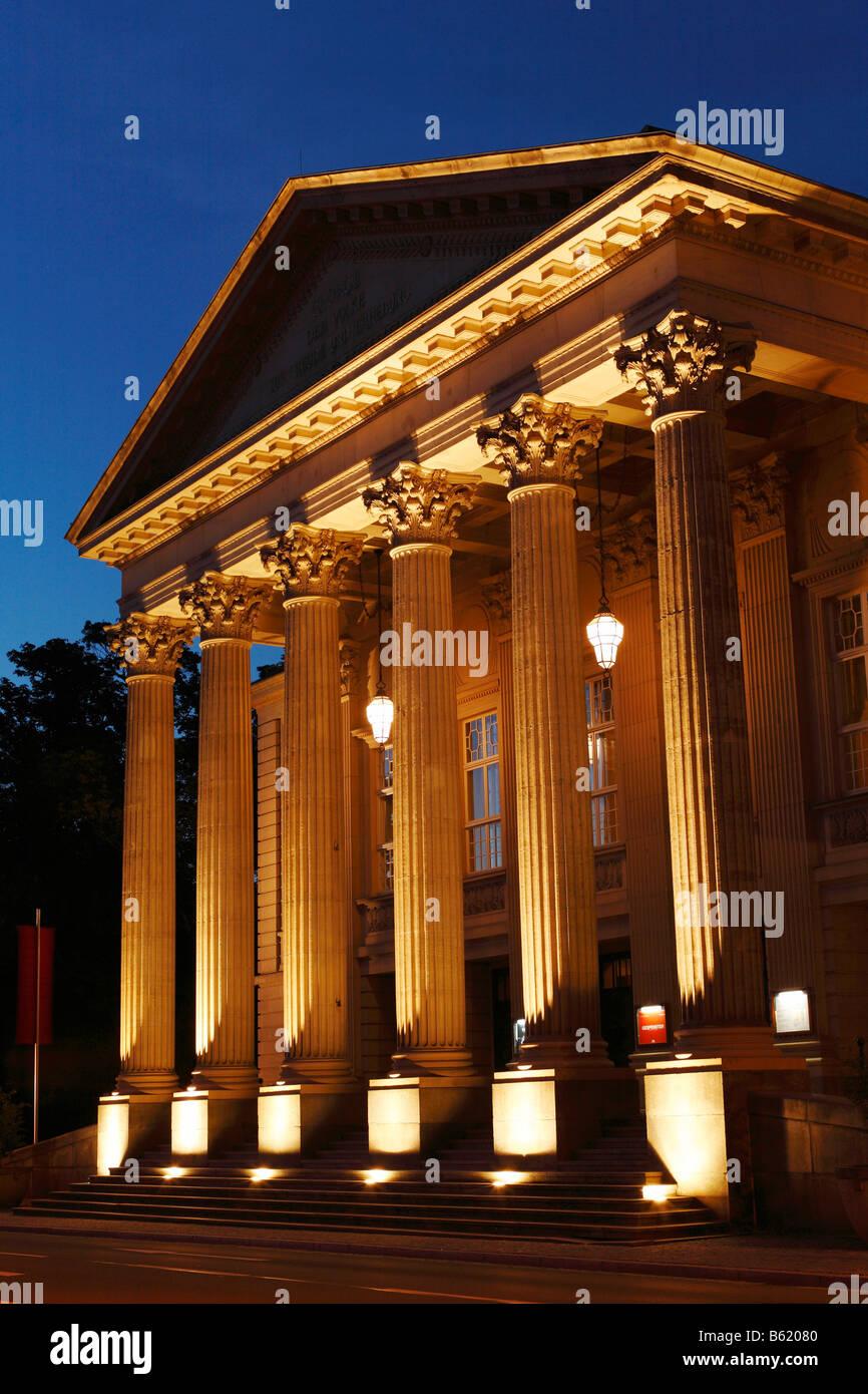 Meininger Theatre, Meiningen, Rhoen, Thuringia, Gerrmany, Europe Stock Photo