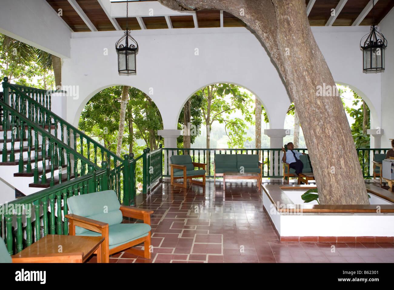 Moka Hotel, Interior, Banjos del San Juan, Cuba, Caribbean - Stock Image