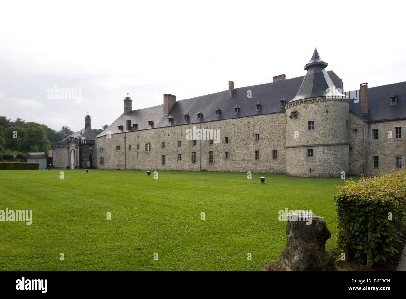 Château de Modave, Castle of Modave, Modave, Liège Province, Belgium, Europe Stock Photo