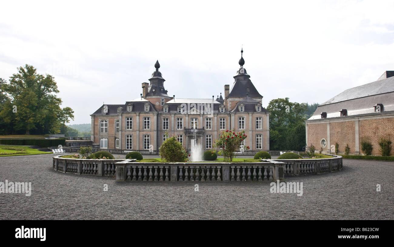 Château de Modave, Castle of Modave, Modave, Liège Province, Belgium, Europe Stock Photo