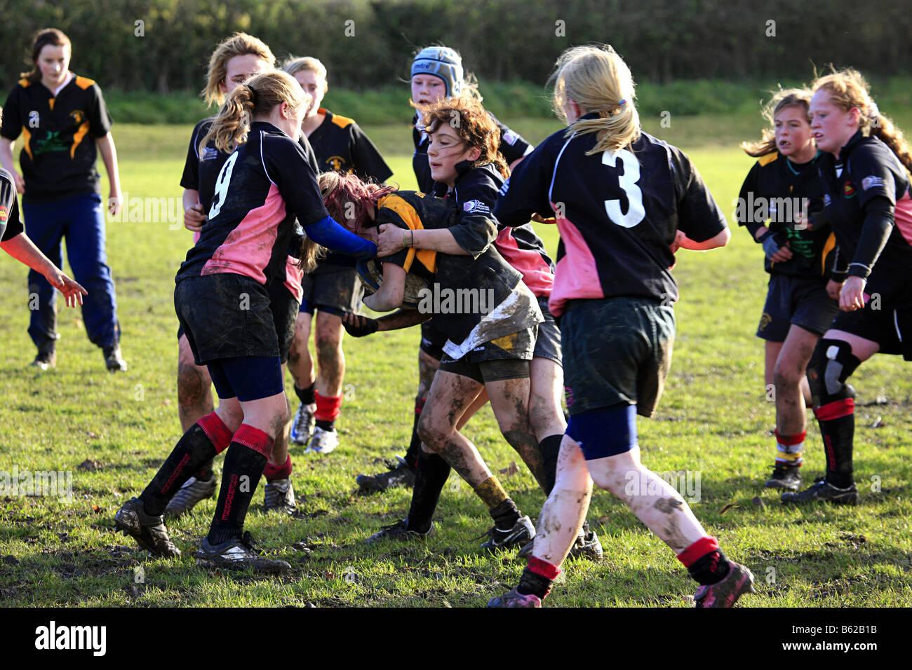 Rugby teens