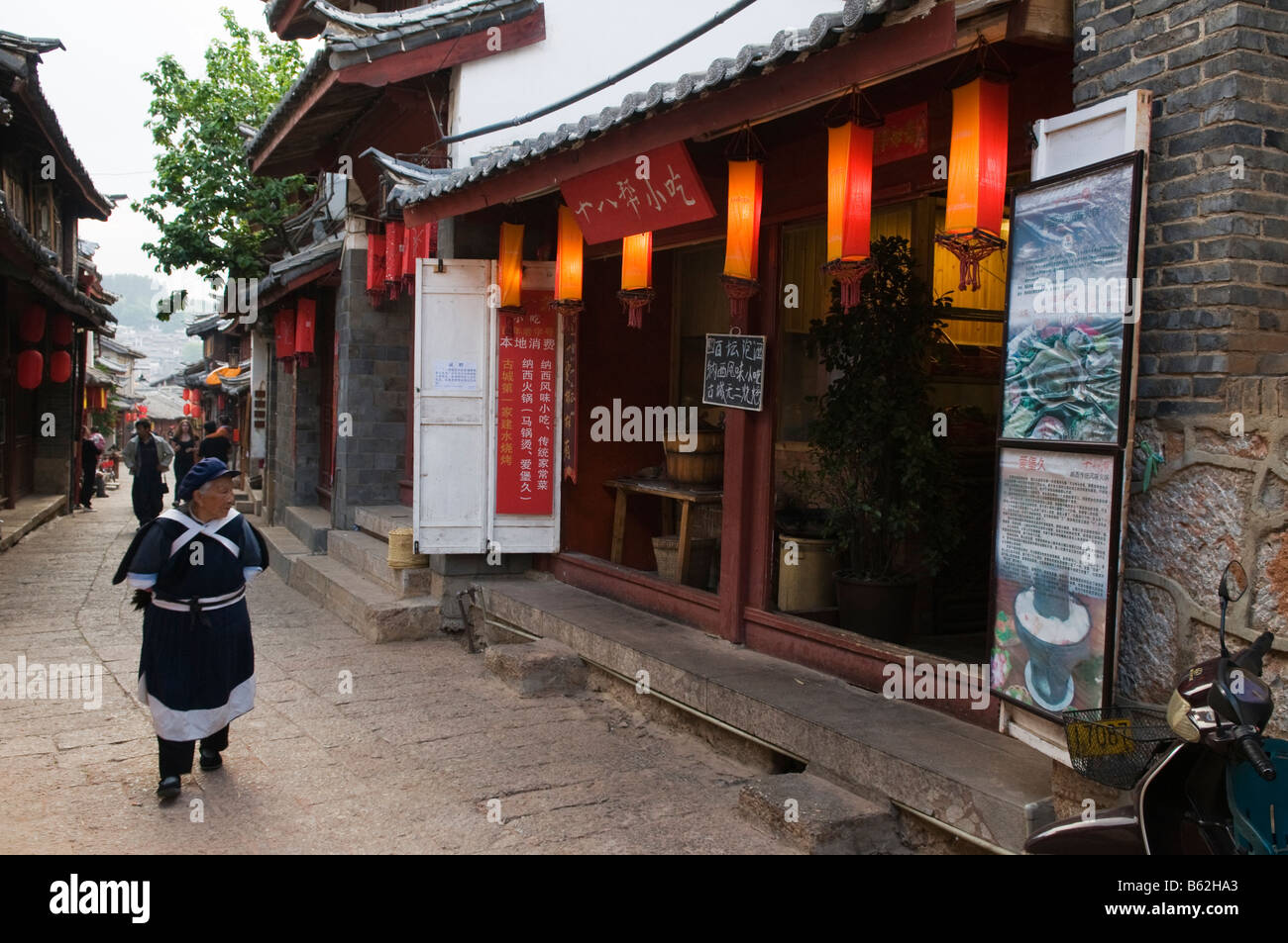 China Yunnan province Lijiang town Unesco World Heritage Site - Stock Image