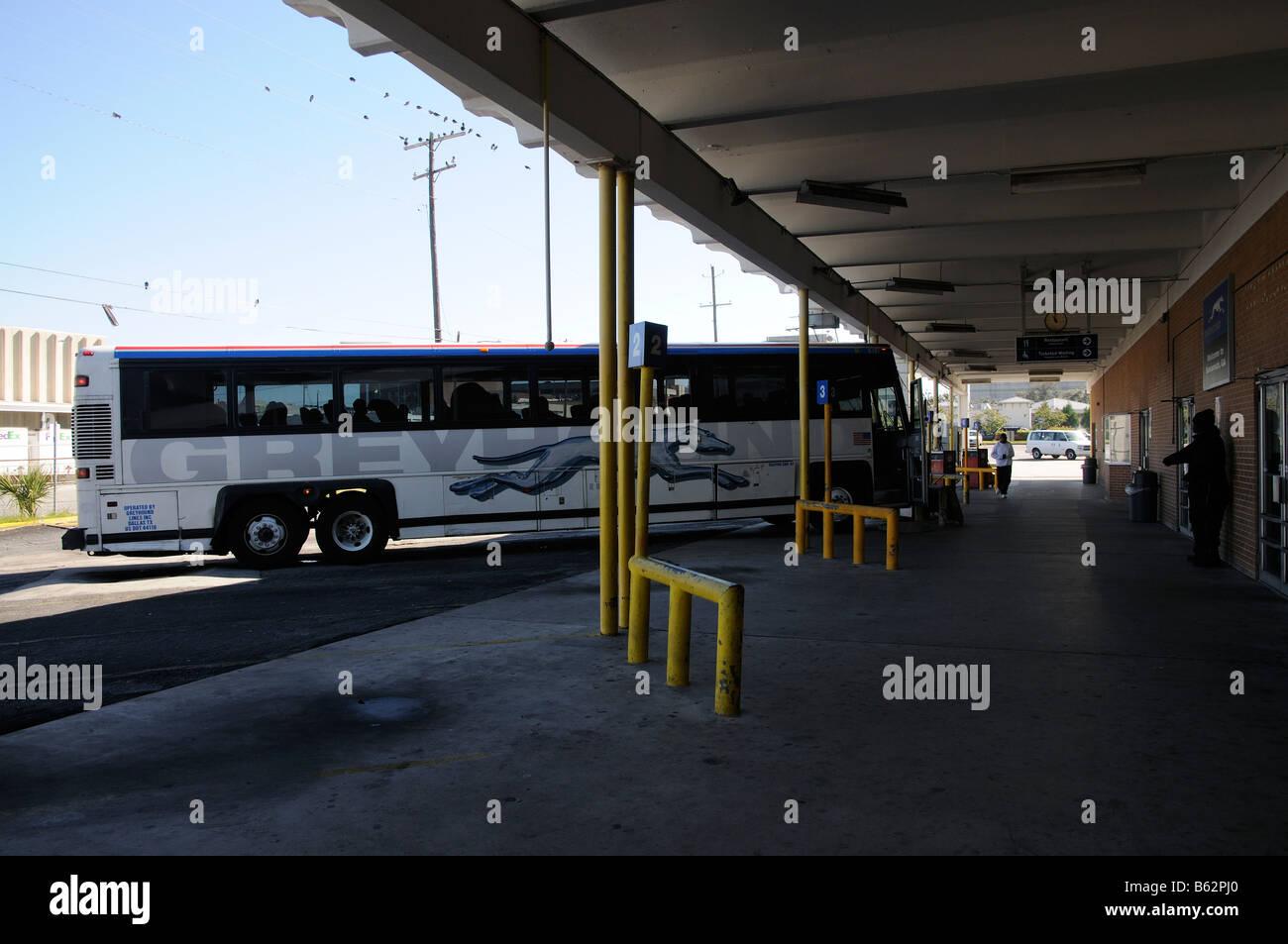 Greyhound Bus America Stock Photos & Greyhound Bus America