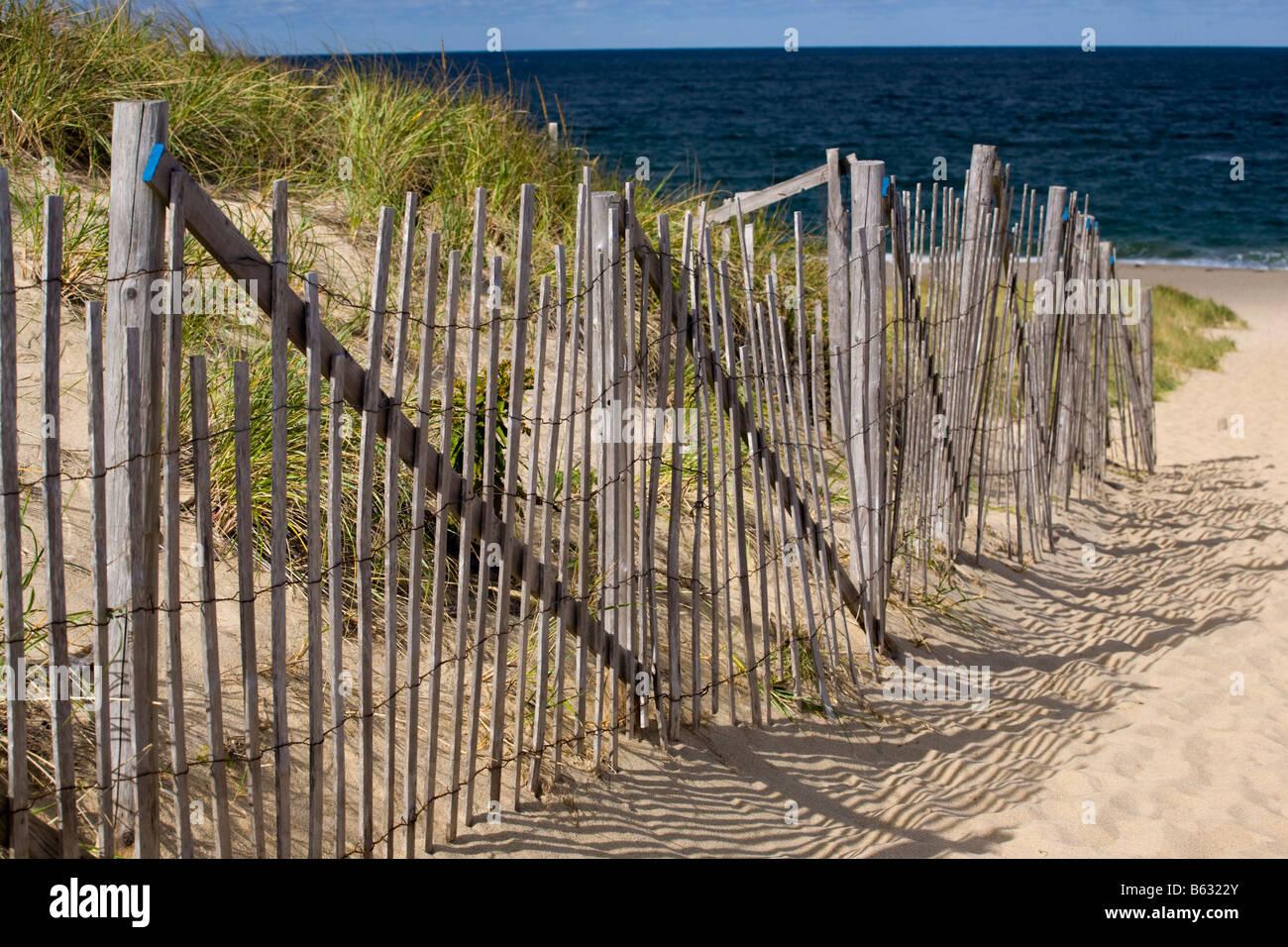 Cape Cod National Seashore Massachusetts USA - Stock Image