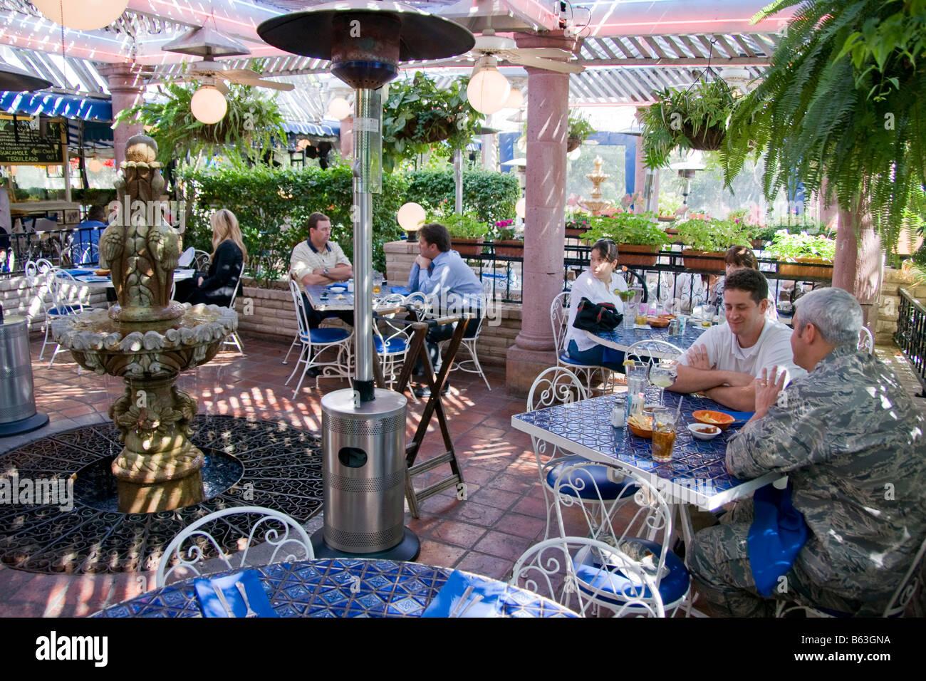 San Antonio S La Fogata Mexican Restaurant Features Outdoor Dining